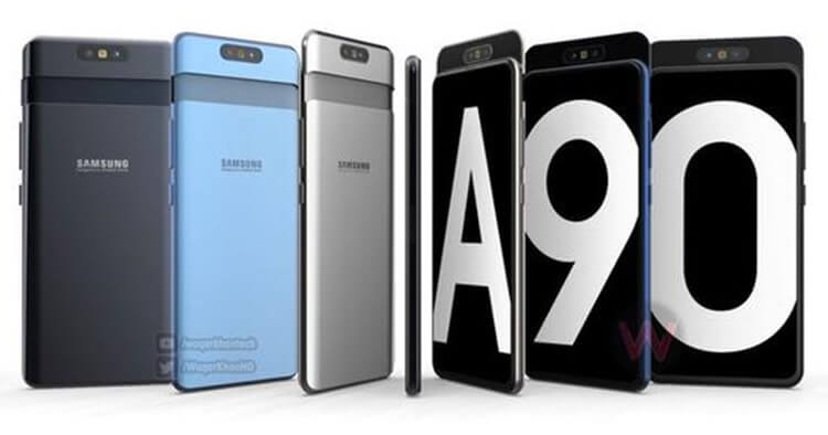 Samsung Galaxy A90 Render Video And Specs Leak Ahead Of Its April 10 Launch