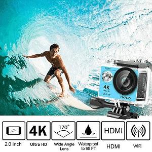 ASAKO Sports Action Camera Waterproof