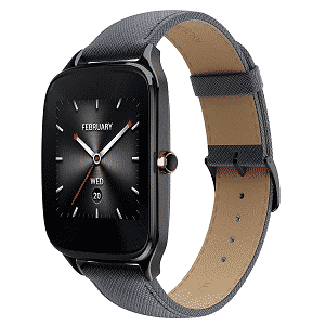 ASUS ZenWatch 2 Gunmetal Certified Refurbished
