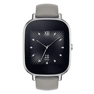 ASUS ZenWatch 2 Silver with Beige Leather Strap 1.45