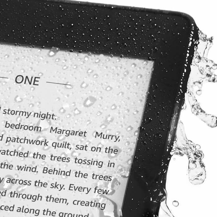 Amazon Kindle Paperwhite waterproof