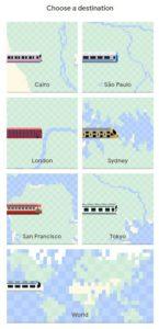 Choose Destination For The Snake Game