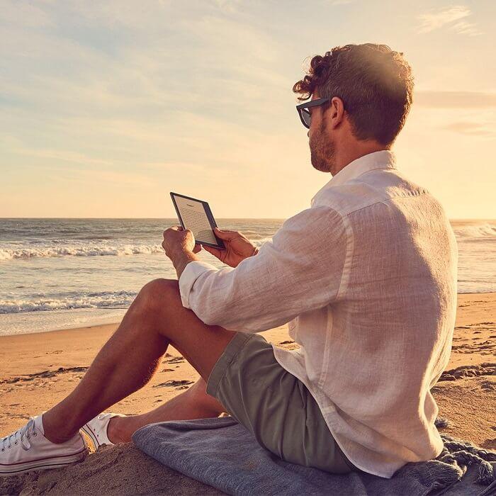 Kindle Oasis portability