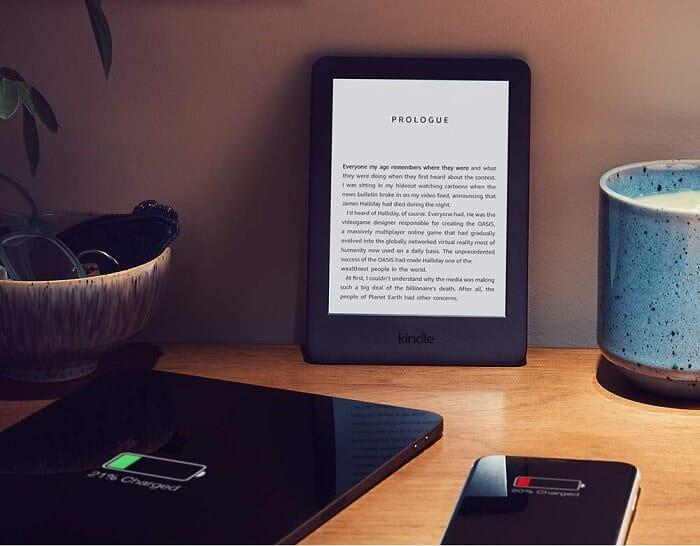 Kindle - Long Battery Life