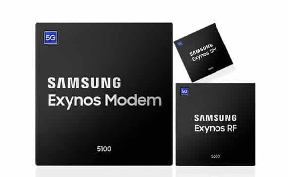 Samsung 5G Modems