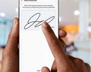 Signature - How to Use Samsung Pay