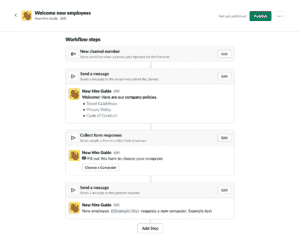 """""""Workflow Builder"""" Soon To Roll-Out To Slack"""
