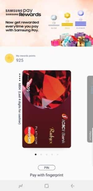 Swipe Up - How to Use Samsung Pay