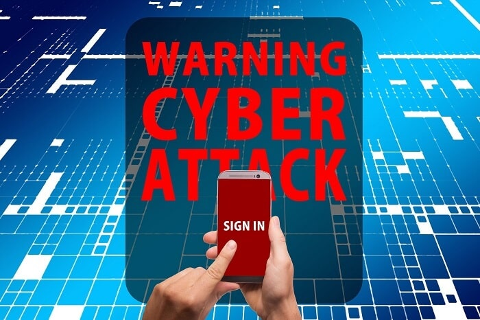 Android Antivirus Smartphone Warning Cyber Attack