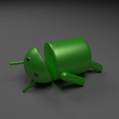 Dying Android