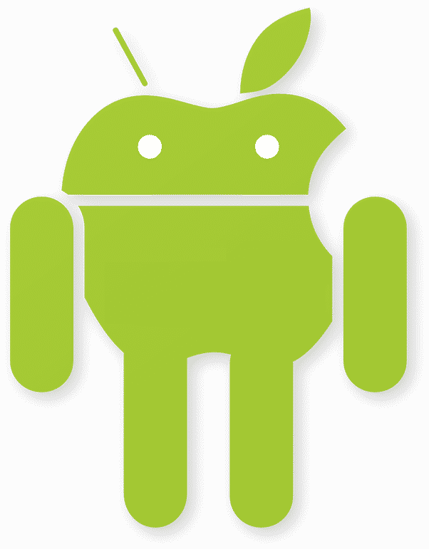 Android iOS Iconic Logo