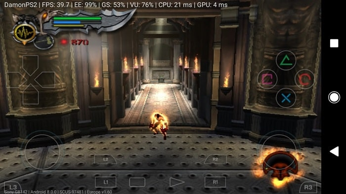 damon ps2 pro - fastest ps2 video games emulator