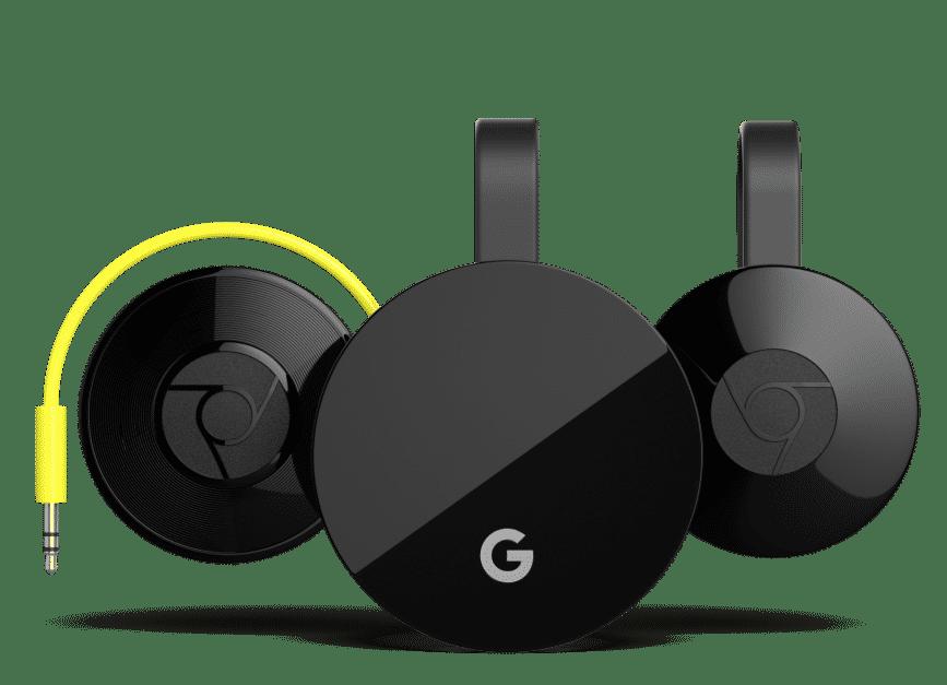 Google Chromecast Line
