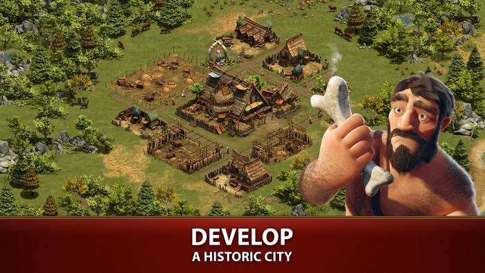 Journey through the eras, while developing historic cities