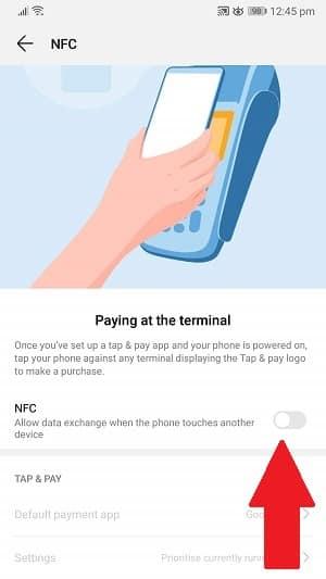 tap nfc switch