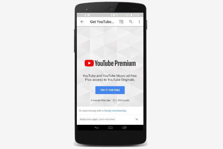 YouTube Premium Service