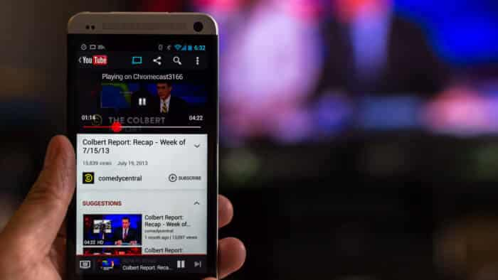 Youtube provides a great experience on Chromecast