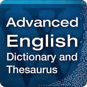 Advanced English Dictionary & Thesaurus - App Logo
