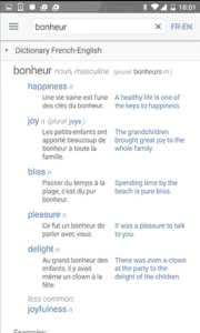 Dictionary Linguee - Translation -Free Dictionary App for Android
