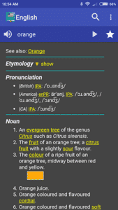 English Dictionary - Word Definition - Free Dictionary App for Android