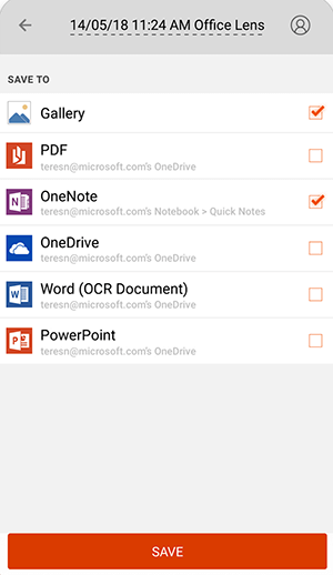Microsoft Office Lens - Best Scanner App for Android