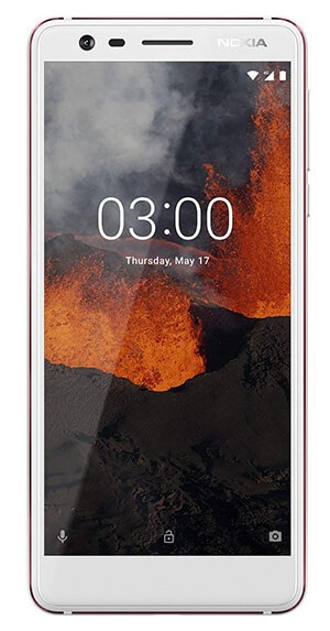 Android Cell Phones for Hearing Impaired People - Nokia 3.1