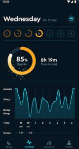 Simple Alarm Clocks for Android - Sleep Cycle - Sleep Analysis