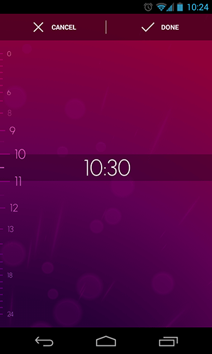 Simple Clcok Apps for Android - Timely - Set an Alarm