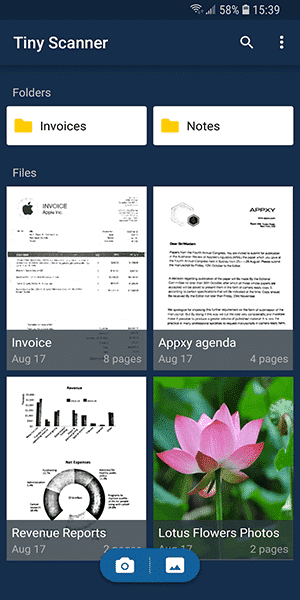 Tiny Scanner - Best Scanner App for Android