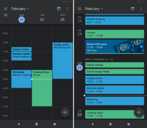 Dark Mode On Google Calendar