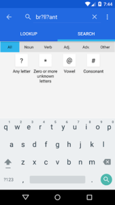 WordWeb - Search Tool - Free Dictionary for Android
