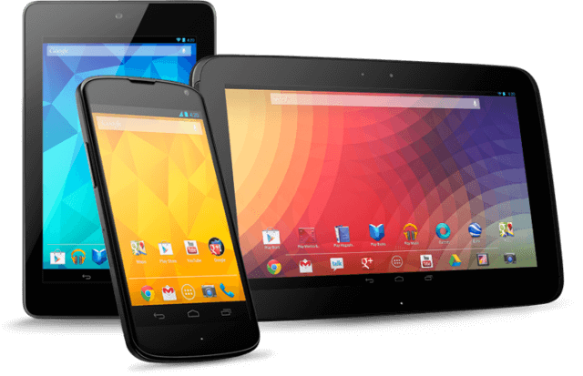 Nexus Tablets and Smartphone
