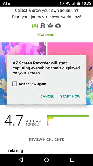 az-record-android-screen-record