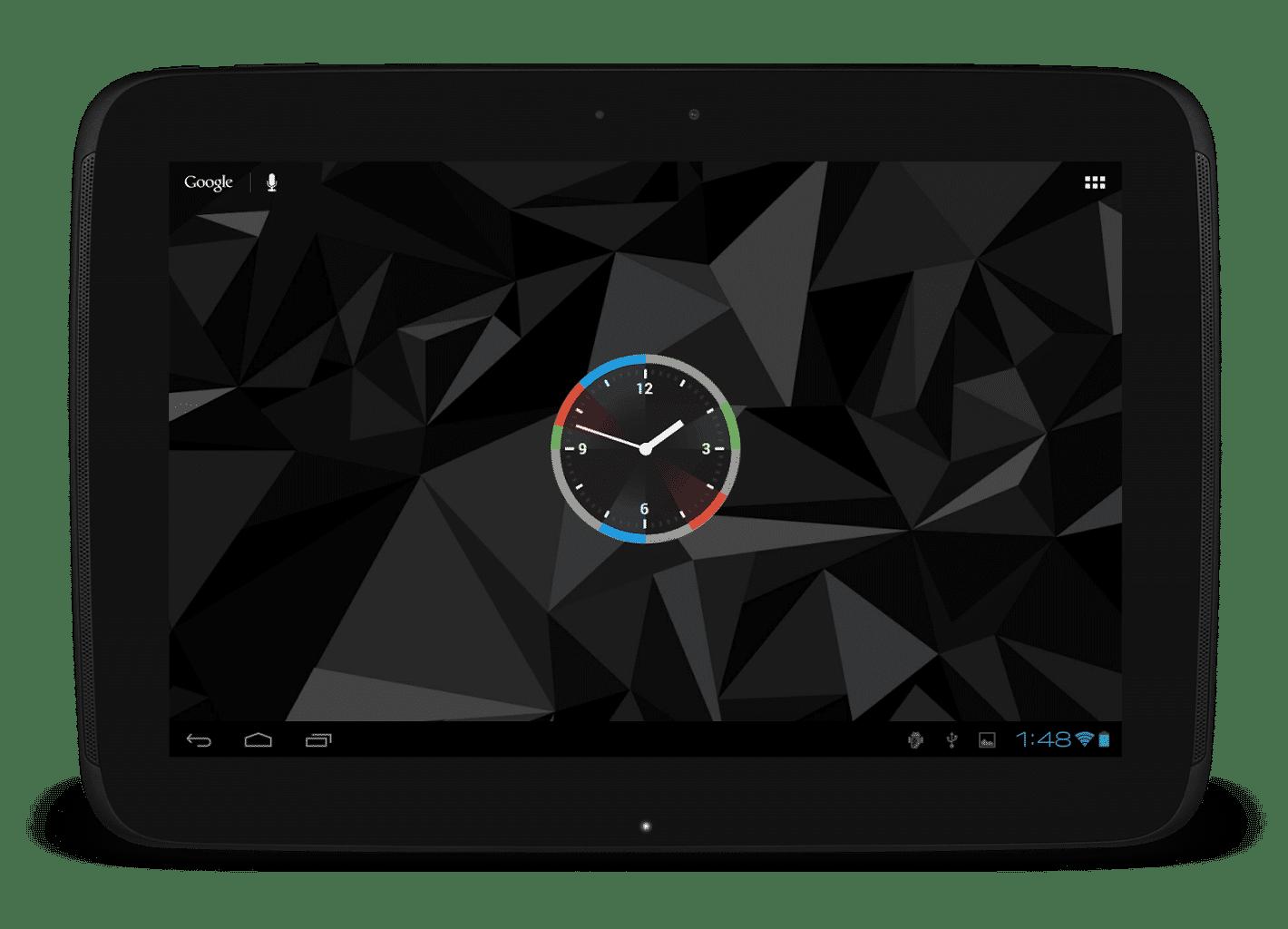 best android widget analog clock