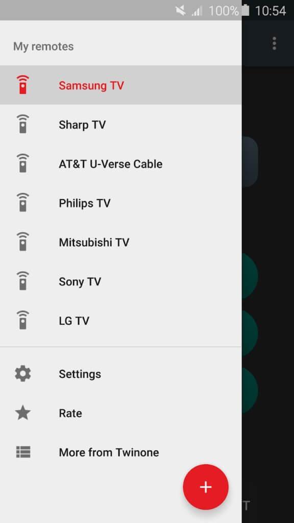 Universal TV Remote - My Remotes