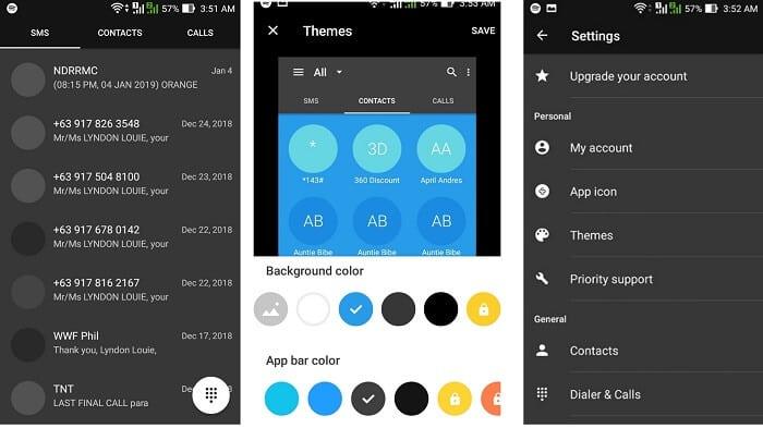 Contacts Keyboard emoji app