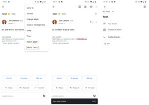 How To Add Emails To Tasks (Photo Credits Mobile Syrup)