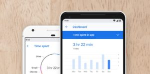 Digital Wellbeing Monitors User's Time On The Device