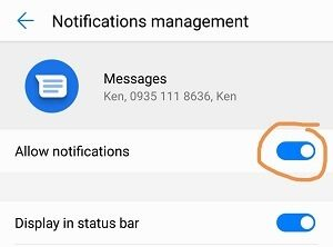 Notifications Management