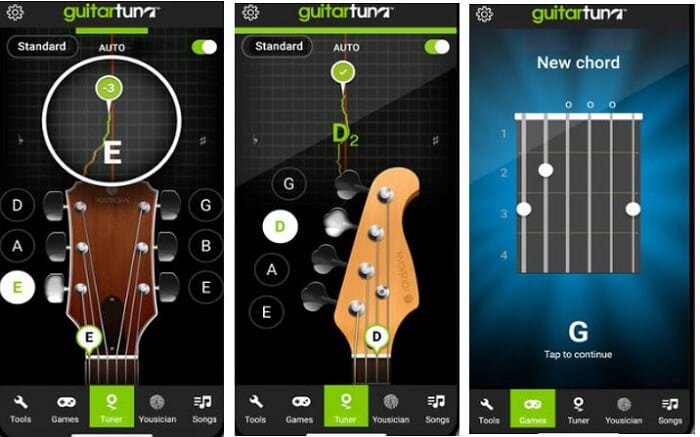 7 best android guitar tuner apps for android guitarists. Black Bedroom Furniture Sets. Home Design Ideas