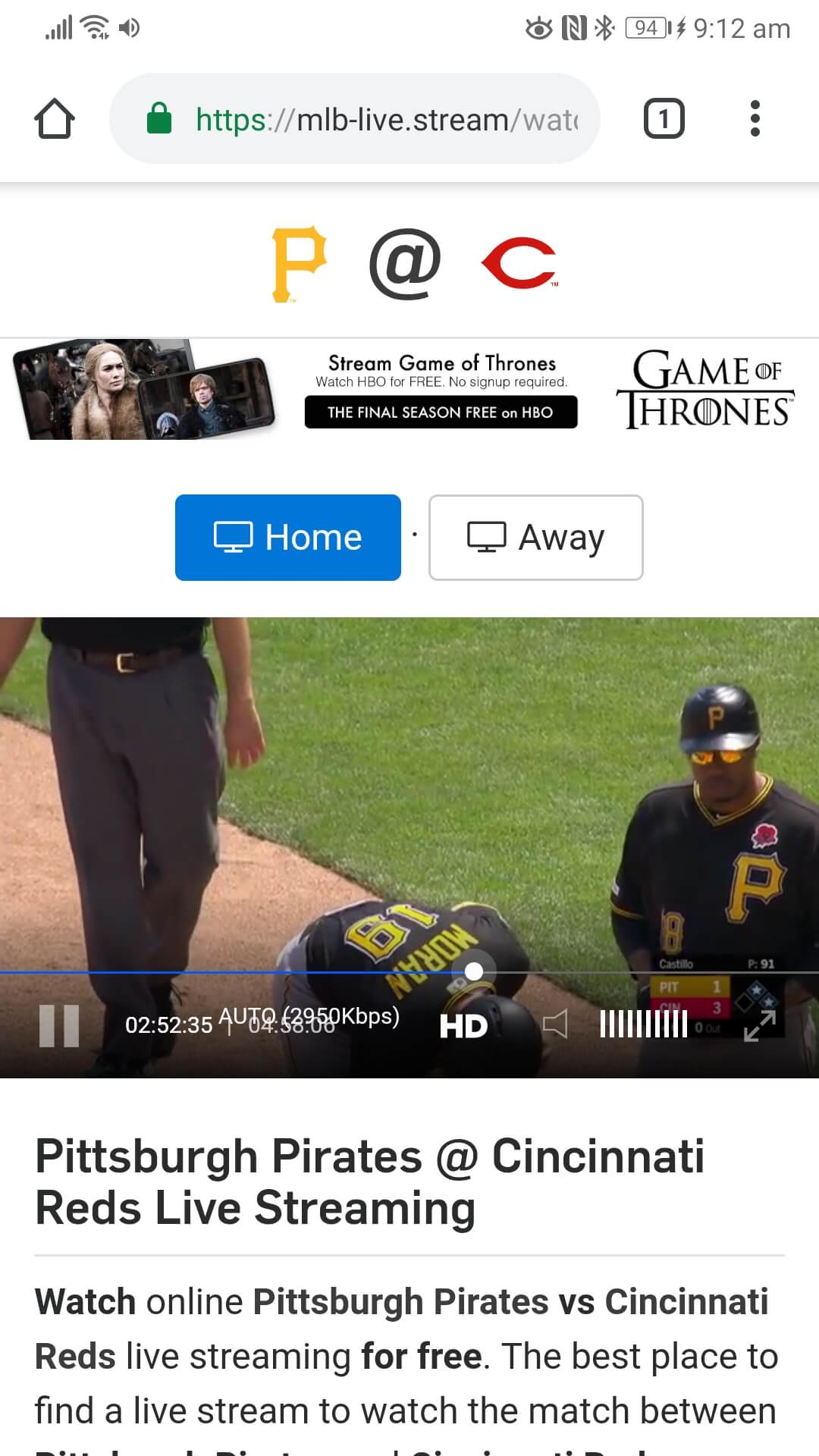 MLB-Live Website Streaming Game