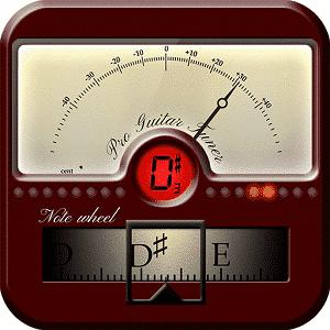 Pro Guitar Tuner app logo