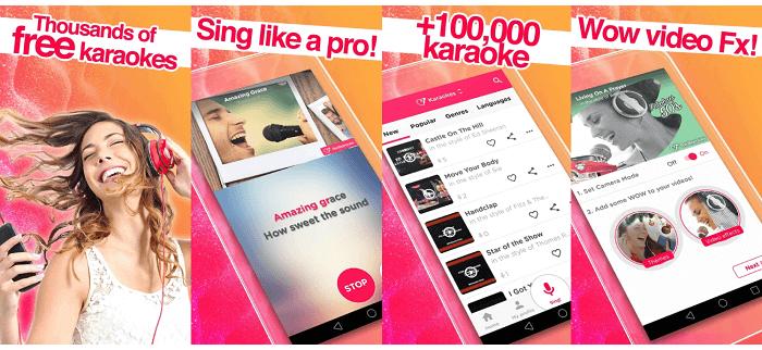 Red Karaoke app