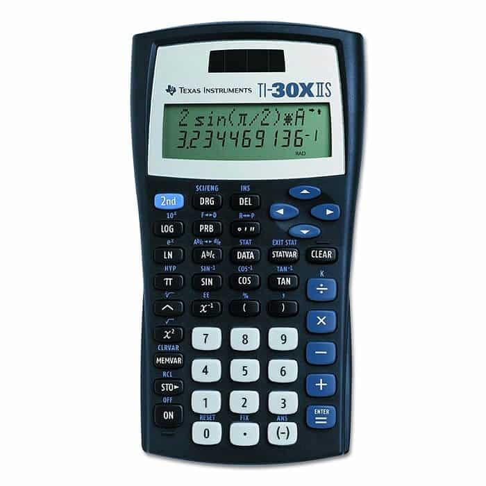 TI-30X IIS Scientific Calculator Texas Instruments