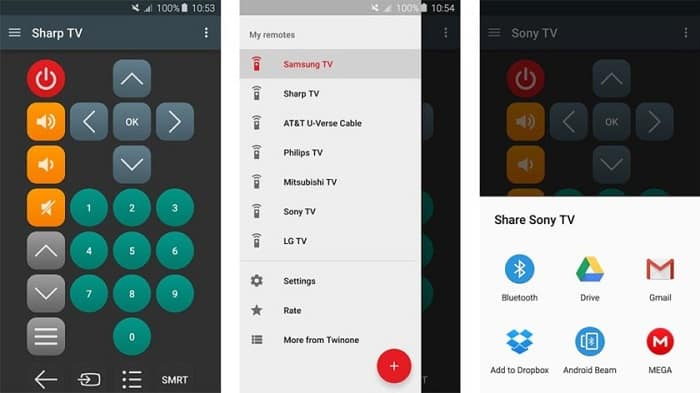 5 Best Universal Remote Apps - Using Android as TV Remote