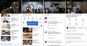 YouTube is testing out new layout for Android appYouTube is testing out new layout for Android app (Photo credits: XDA Developers)