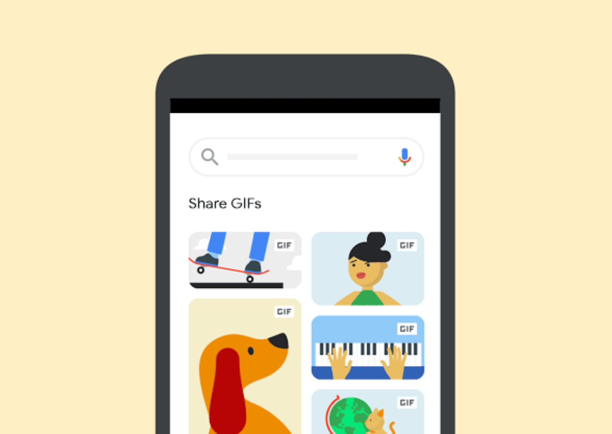 Google adds a way to share GIFs straight from Google Images on Android and iOS