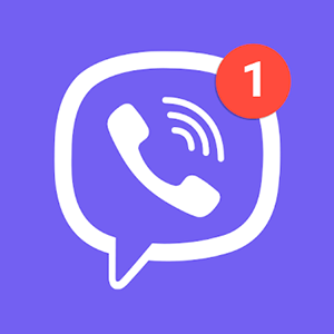Best VOIP apps and SIP apps for Android - Viber Messenger - App Logo
