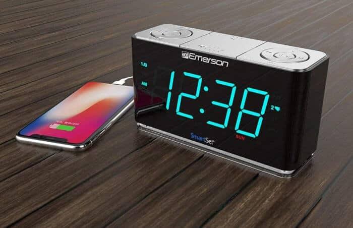 Đồng hồ báo thức Emerson Smartset