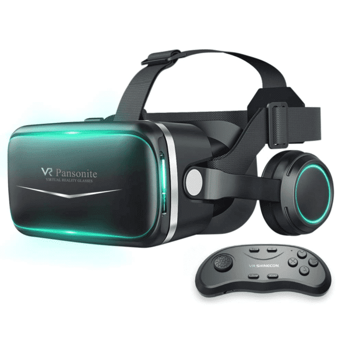 VR Headset with Remote Controller
